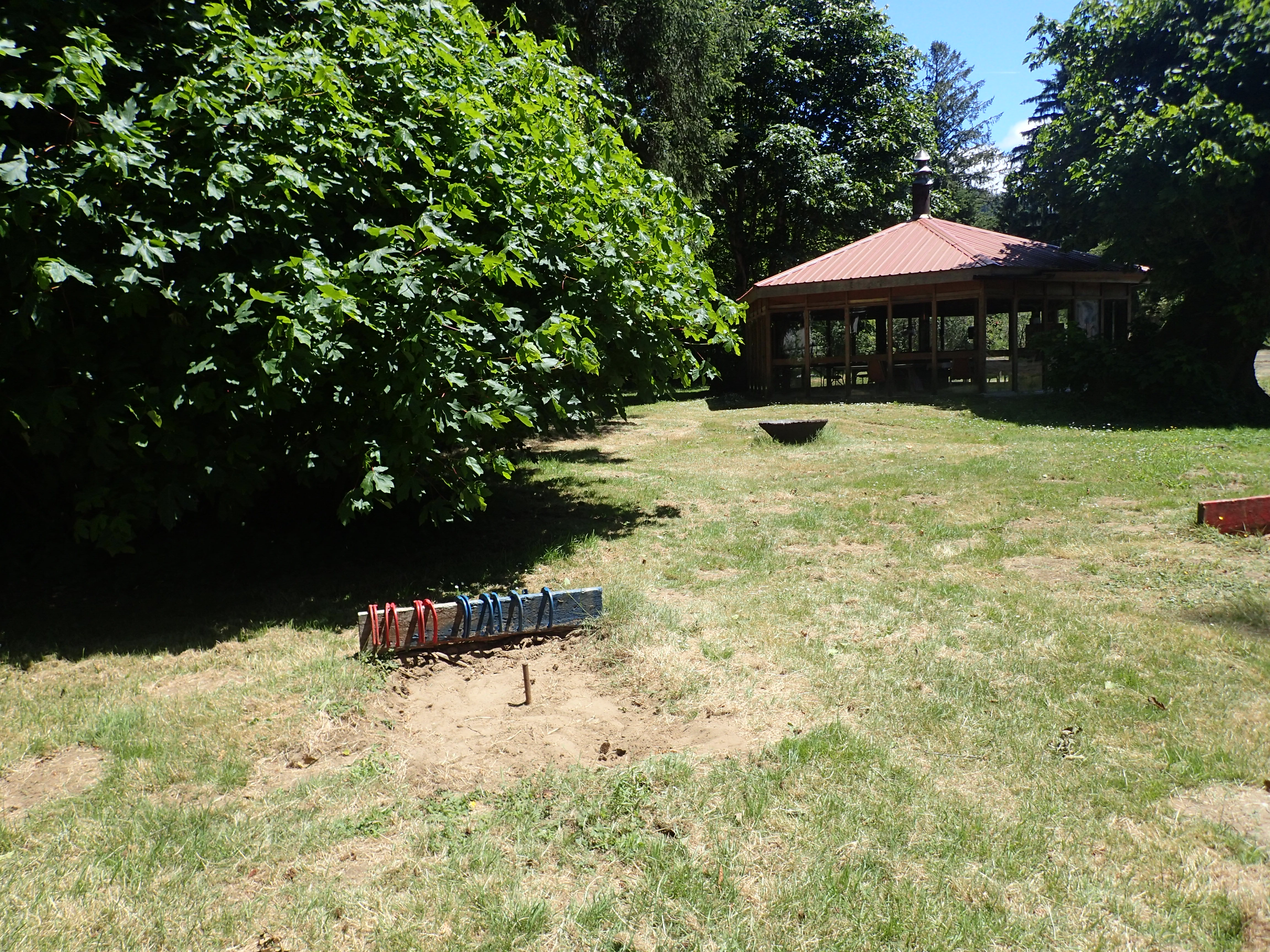 Up for a game of horseshoes?