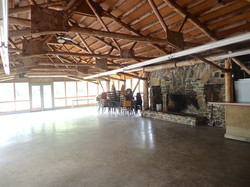 Large Gathering Space with Fireplace