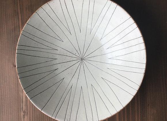 粉引  高台皿のコピーのコピー