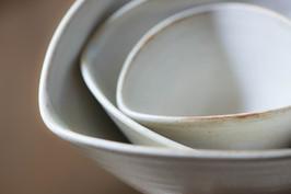 粉引 おむすび鉢