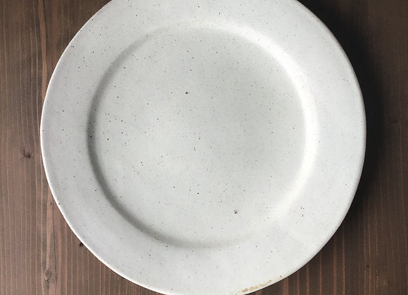 粉引  リム皿