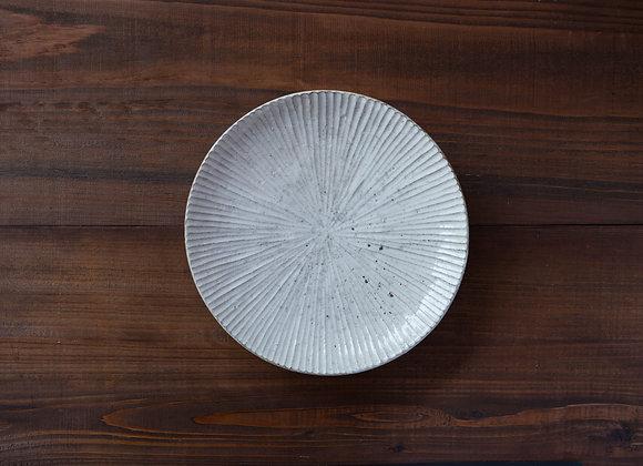 粉引 鎬皿