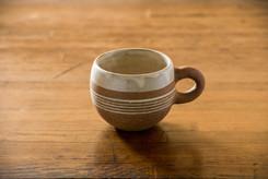 線象嵌 コーヒーカップ丸