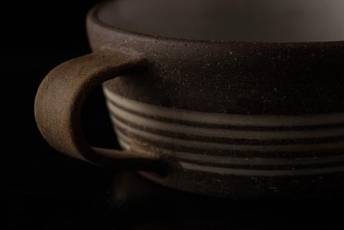 線象嵌 スープカップ