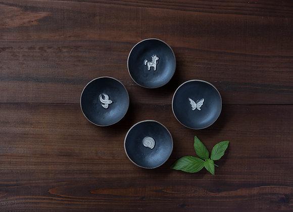 マンガン  豆皿
