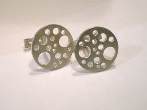 Moonscape Cuff Links