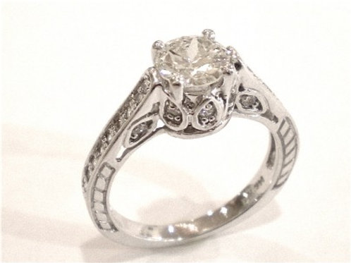 Fancy Engagement Ring