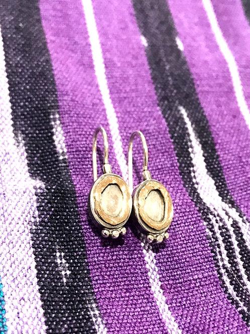Small Sterling/14k Gold Earrings