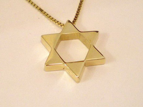 Star of David Pendant of Triangles
