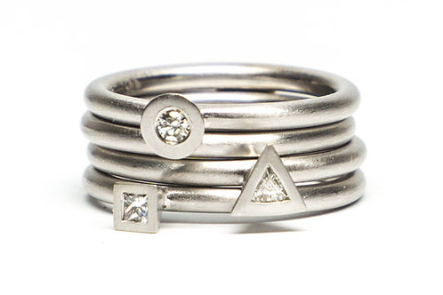 Little Pyramid Rings