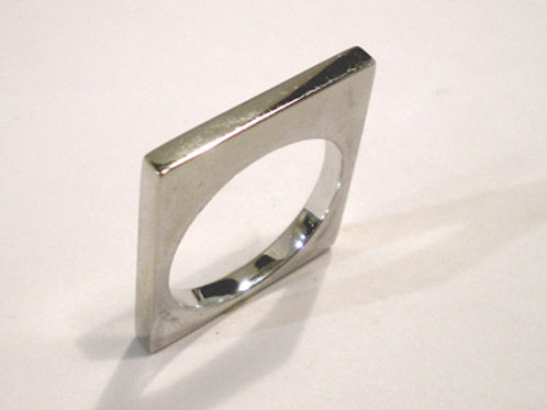 Thin Tall Square Ring