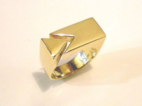 Open Puzzle Piece Ring