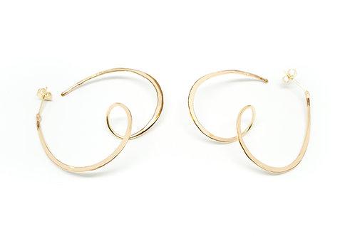 Pretzel Earrings - Posts & Backs