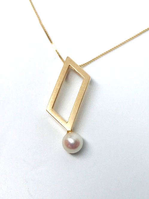 Angled Open Pendant