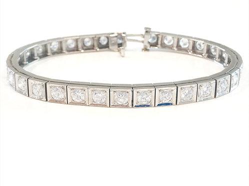 Diamond Estate Bracelet - 6.75 cts.