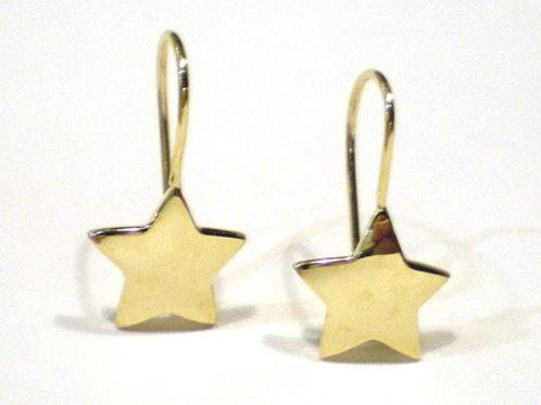 Stars Earrings on Wires