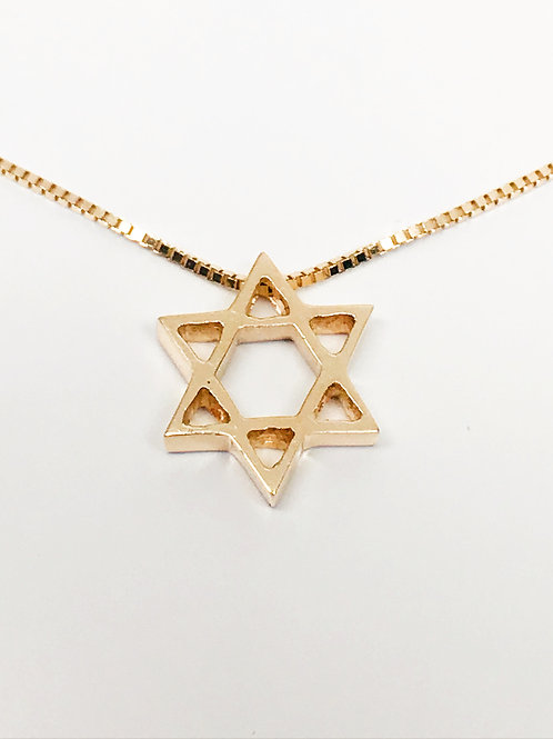 Traditional Star of David Pendant