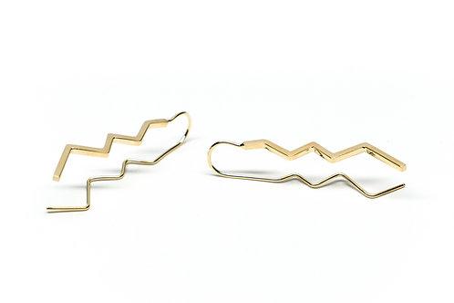 Zig Zag Earrings