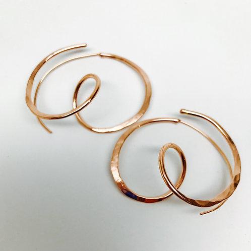 Pretzel Earrings - Easy On