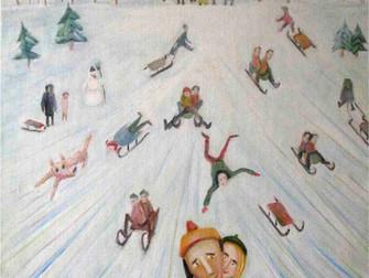 Sleeding, evviva le vacanze sulla neve!
