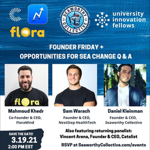 Founder Friday + Opportunities for Sea Change Q & A