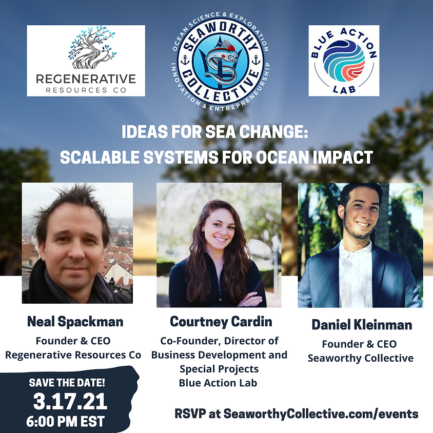 Ideas for Sea Change: Scalable Systems for Ocean Impact