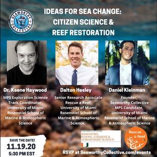 deas for Sea Change: Citizen Science & Reef Restoration