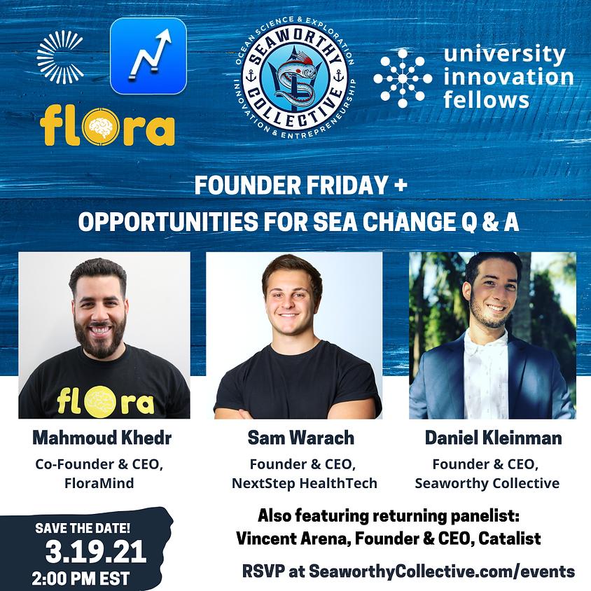 Founder Friday + O4SC Q & A