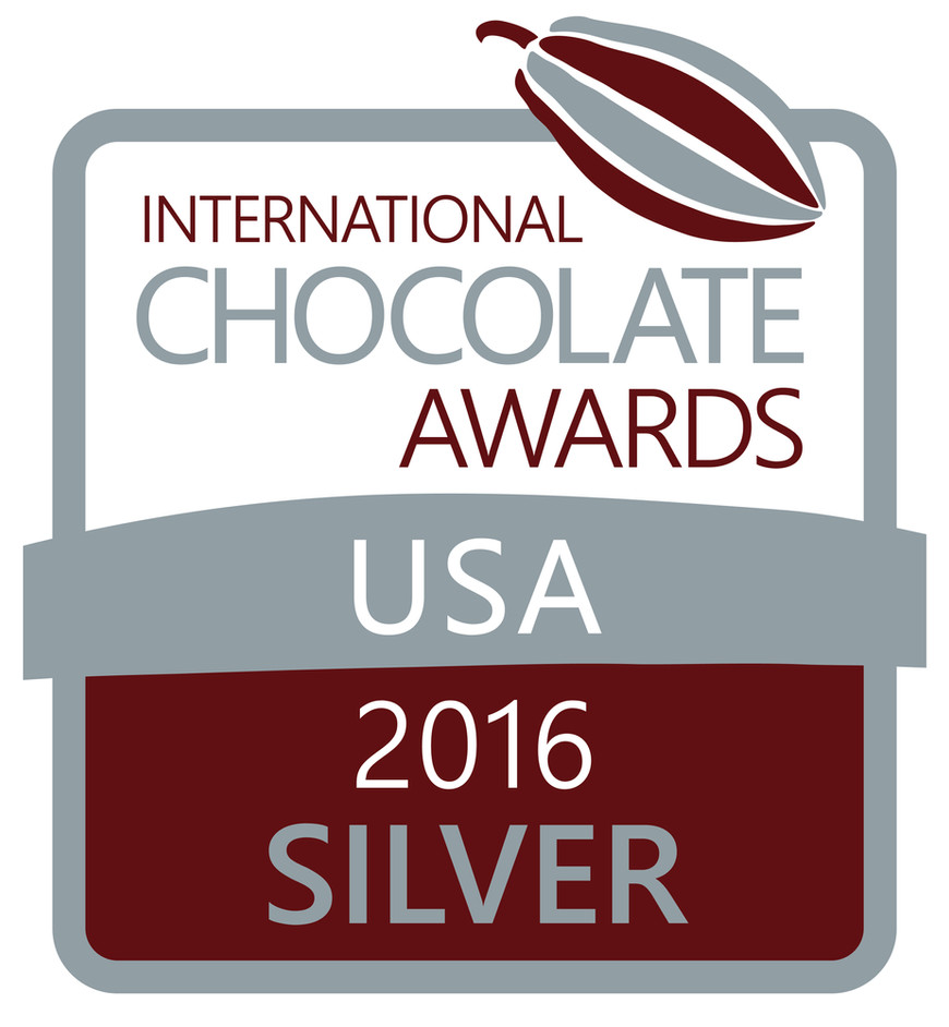 International Chocolate Awards USA 2016- Silver