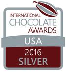 International Chocolate Awards USA 2016- Silver