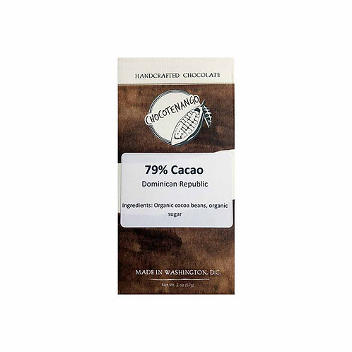 79% Cacao from Dominican Republic