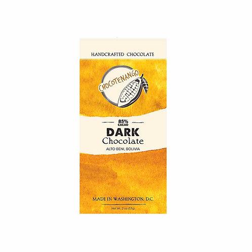 85% Dark Chocolate from Alto Beni, Bolivia