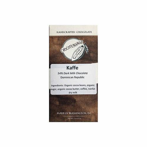 54% Dark Milk Chocolate with Coffee