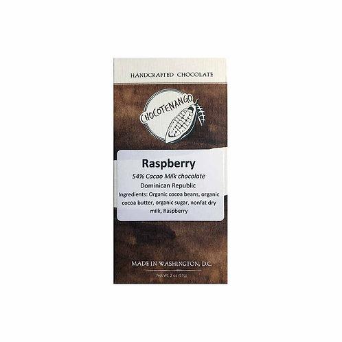 54% Milk Chocolate with Raspberry
