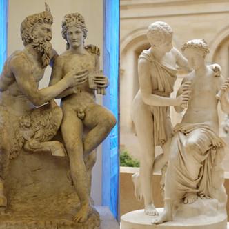 De Pan et Daphnis à Daphnis et Chloé ou l'adaptation néoclassique d'une sculpture antique