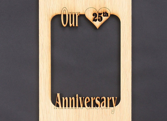 5x7 Wedding Anniversary Gifts Mat Insert (ONLY) for 5x7 Picture Frame – 1st An