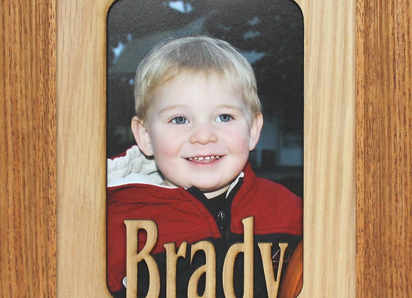 11x14 Name Frame - Personalized Picture Frame Mat insert for Frame