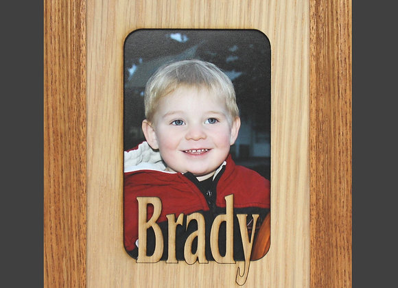 8x10 Name Frame - Personalized Picture Frame Mat insert for 8x10 Frame