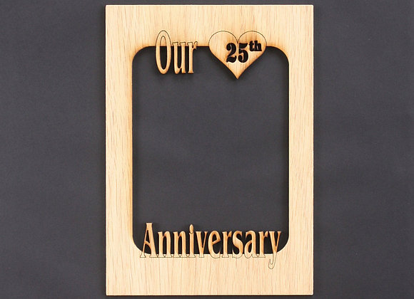 8x10 Wedding Anniversary Gifts Mat Insert (ONLY) for 8x10 Picture Frame