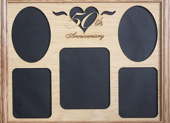 Wedding 1st Anniversary Gifts Mat Insert (ONLY) for 11 x14 Picture Frame