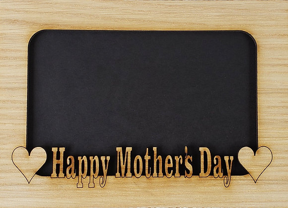 5x7 Happy Mother's Day matte INSERT fits into a 5x7 picture frame