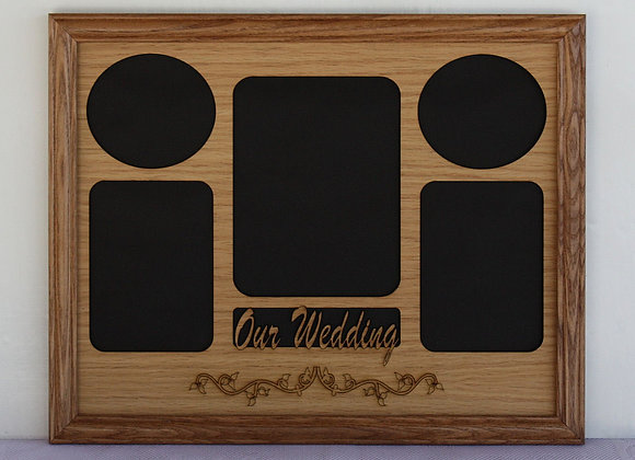 11x14 Personalized Wedding Picture Mat Insert ONLY for picture frame