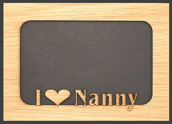 5x7 Nanny Matte Insert for picture frame (FRAME NOT INCLUDED)