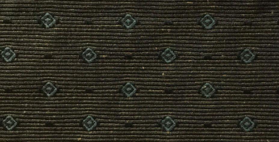 Brown Stripe with Blue Diamonds