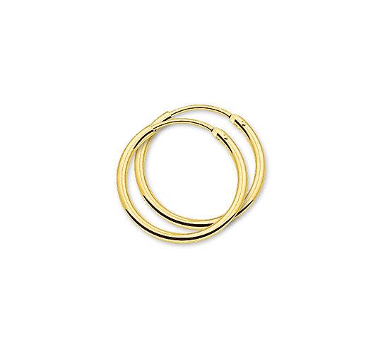Gouden Oorringen 20 mm