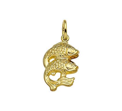 Gouden Sterrenbeeldhanger Vissen