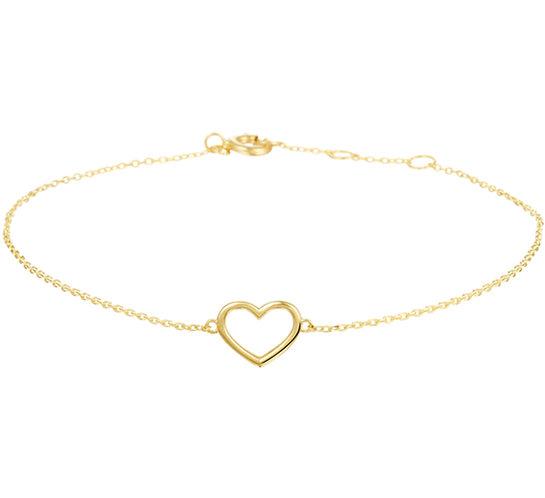 Armband hart 16,5 - 17,5 - 18,5 cm