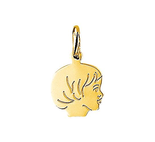 Gouden Kinderhoofdje meisje