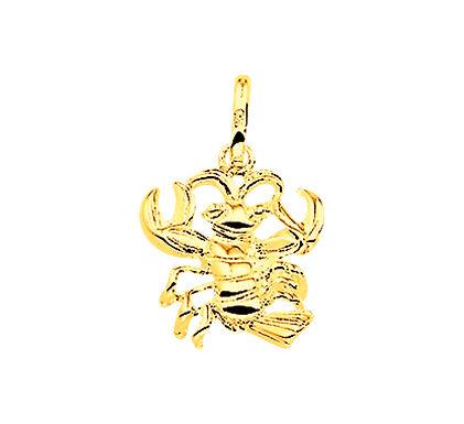 Gouden Sterrenbeeldhanger Kreeft