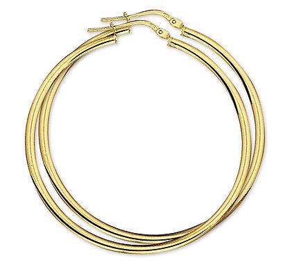 Gouden Oorringen 45 mm